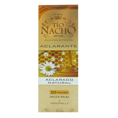Shampoo Tio Nacho Aclarado Natural 415 Ml