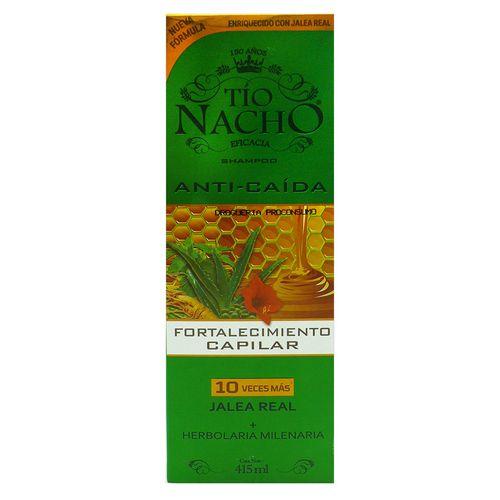 Shampoo Tio Nacho Fortalecimiento Capilar 415 Ml