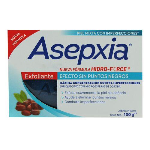 Jabón Asepxia Exfoliante Antiacne 100 Gr