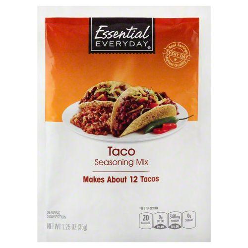 Condimento Essential Everyday Mix Para Taco 1.25 Oz