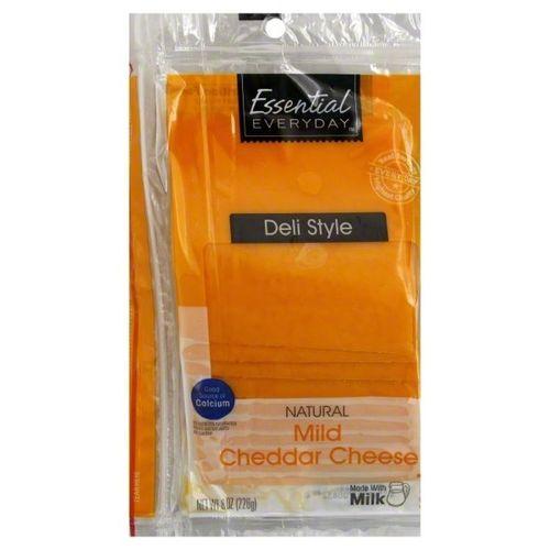 Queso Cheddar Essential Everyday En Rodajas 226 Gr