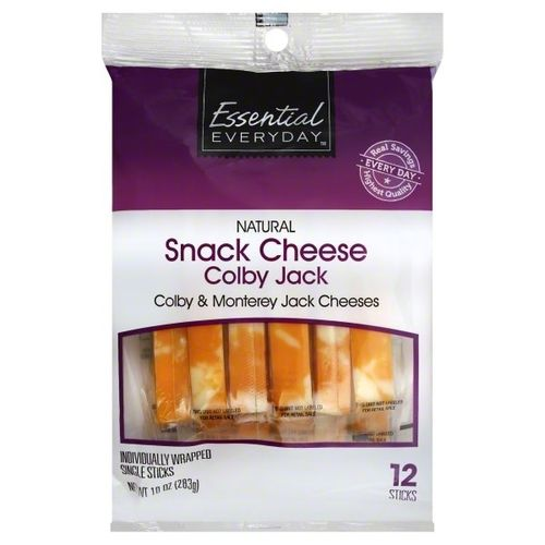 Queso Colby Jack Essential Everyday Single Sticks 283 Gr