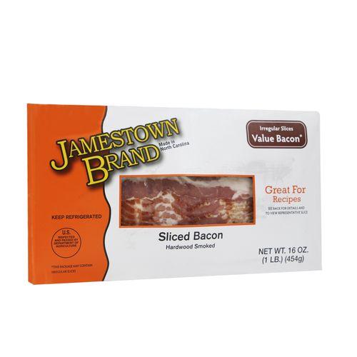 Bacon Jamestown Rebanado Economico 16 Oz