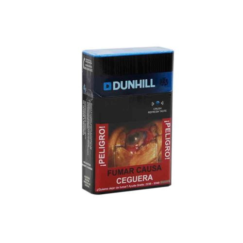 Cigarro Dunhill Ks Switch Blue 20 Un