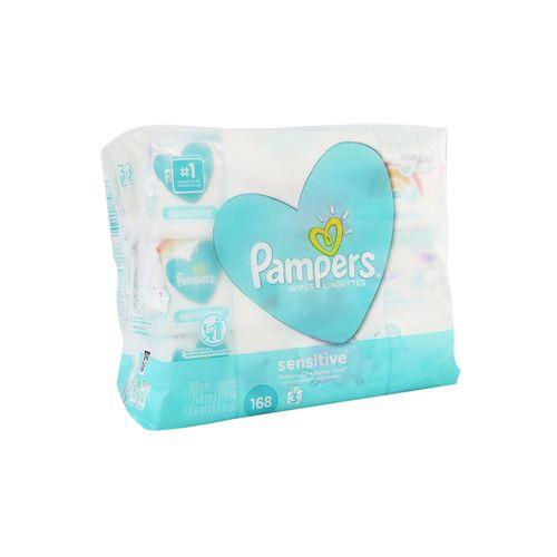 Toallas Húmedas Pampers Sensitive 168 Un