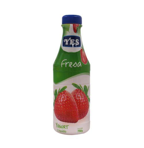 Yogurt Yes Sabor Fresa 750 Gr