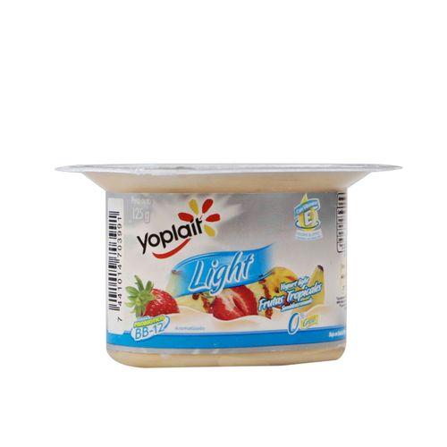 Yogurt Yoplait Light De Frutas Tropicales 125 Gr