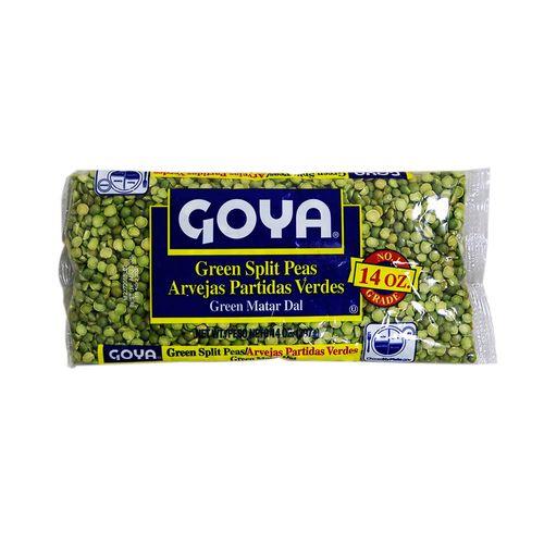 Chicaharos Goya Verdes Partidos 14 Oz