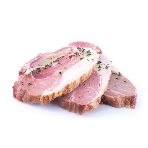 Chuleta De Cerdo Ahumada X Lb