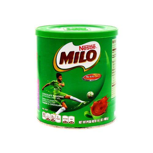 Bebida Nestlé Milo Chocolate 14.1 Oz