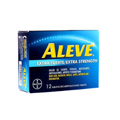 Tableta Aleve Extra Fuerte 12 Un