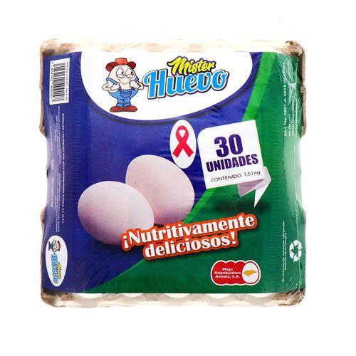 Huevo Mister Huevo Mediano 30 Un