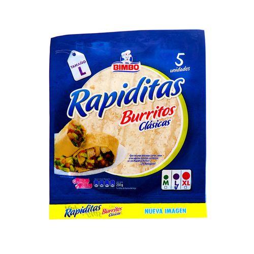 Tortilla De Harina Bimbo 250 Gr