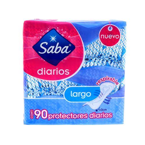Protector Diario Saba Largo 90 Un