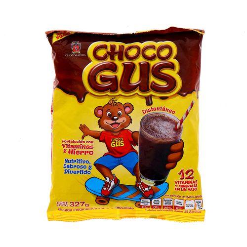 Bebida Instantanea Choco Gus Chocolate 327 Gr