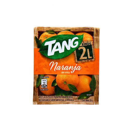 Bebida En Polvo Tang Naranja 20 Gr