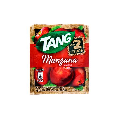 Bebida En Polvo Tang Manzana 20 Gr