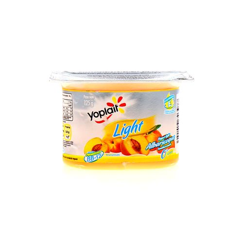 Yogurt Yoplait Light Albaricoque 125 Gr