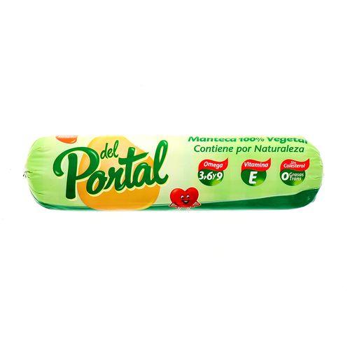 Manteca Vegetal Del Portal 1 Kg