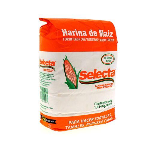 Harina De Maiz Selecta 4 Lb