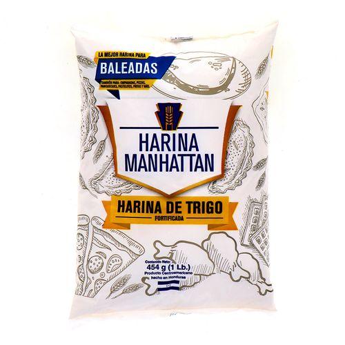 Harina Manhatan De Trigo 454 Gr