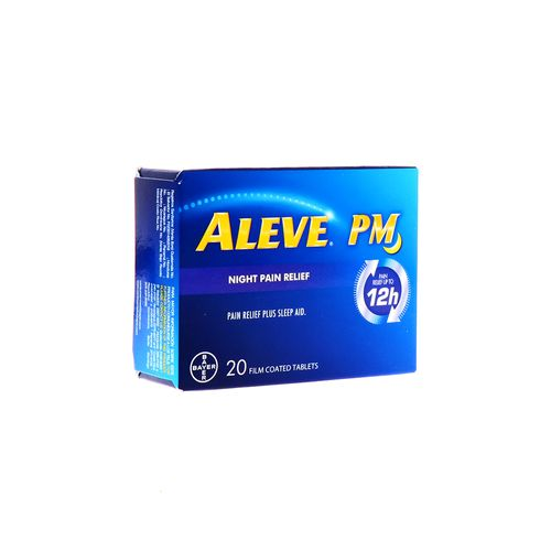 Tableta Aleve Pm Alivio Nocturno 12 Hrs 20Un