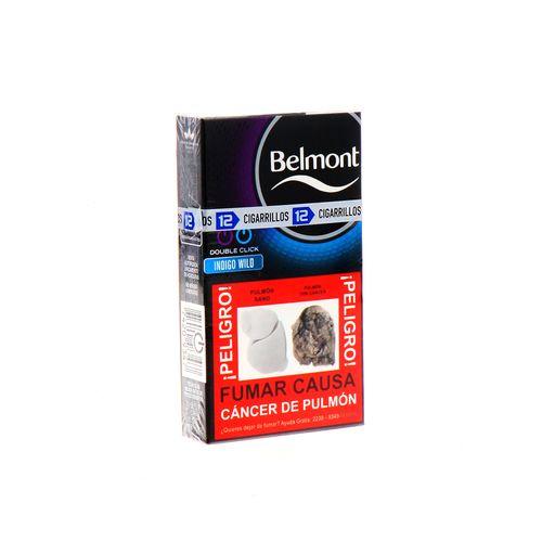 Cigarro Belmont Indogo Wild Double Click 12 Un