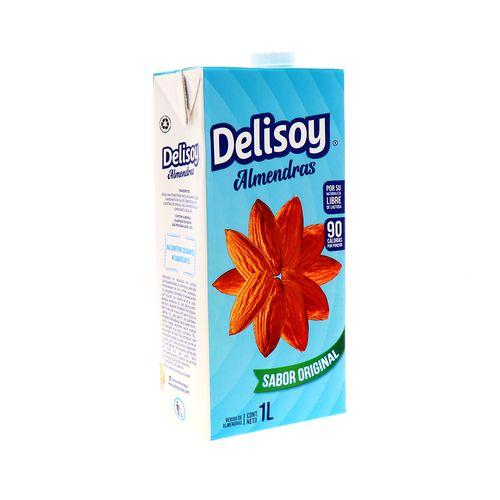 Bebida Delisoy Almendras Sabor Original 1 Lt
