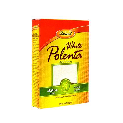 Polenta Roland Blanca Grano Mediano 8.8 Oz