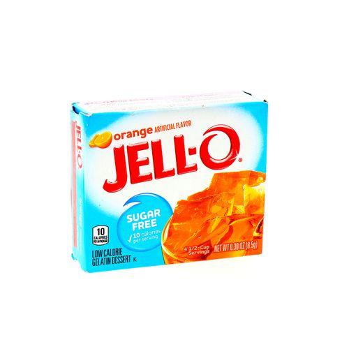 Gelatina Jell-O Naranja Libre De Azucar 0.30 Oz