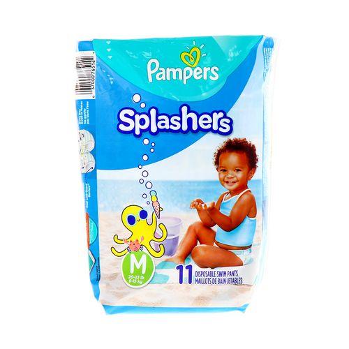 Pañal Bebe Pampers Splasher M 11 Un