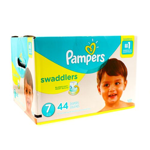 Pañal Bebe Pampers Swaddlers S744 Un