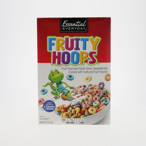 Cereal Essential Everyday Fruity Hoops 345 Gr