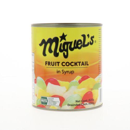 Coctel De Frutas Miguels 840 Oz