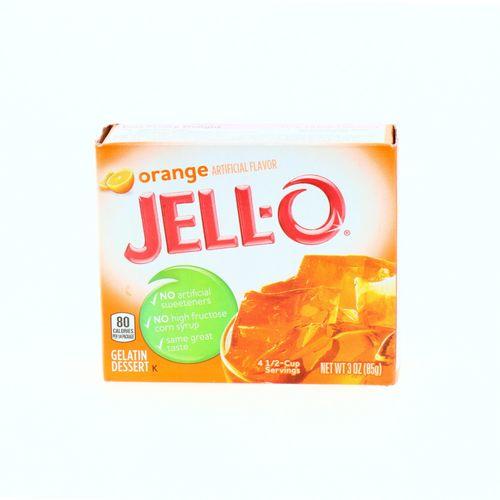 Gelatina Jell-O Sabor Naranja 85 Gr