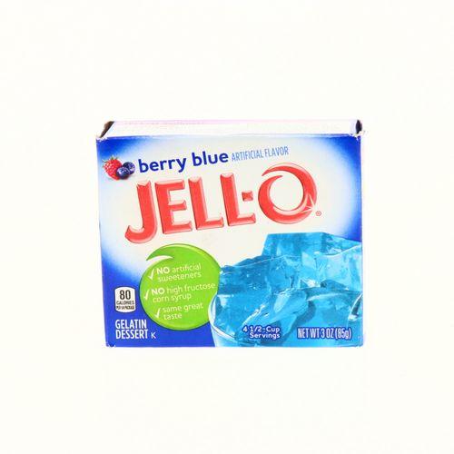 Gelatina Jell-O Sabor Mora Azul 85 Gr