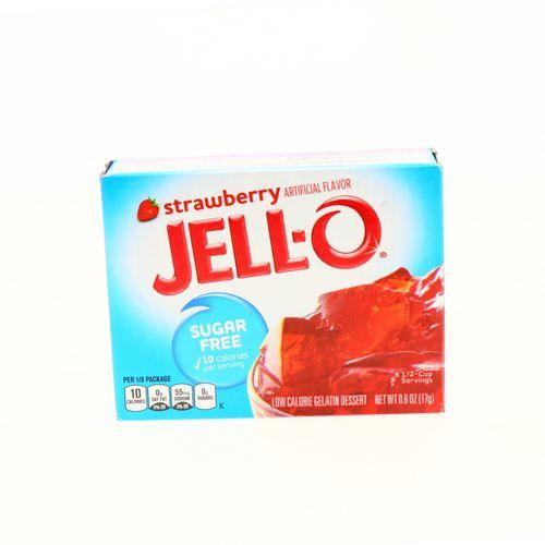 Gelatina Jell-O Sin Azúcar Sabor Fresa 17 Gr