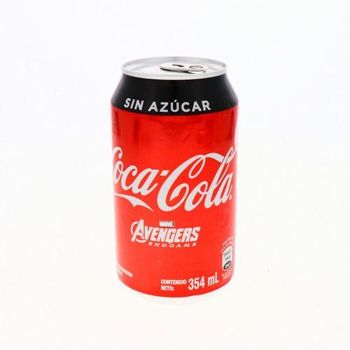 Refresco Coca Cola Sin Azúcar 354 Ml