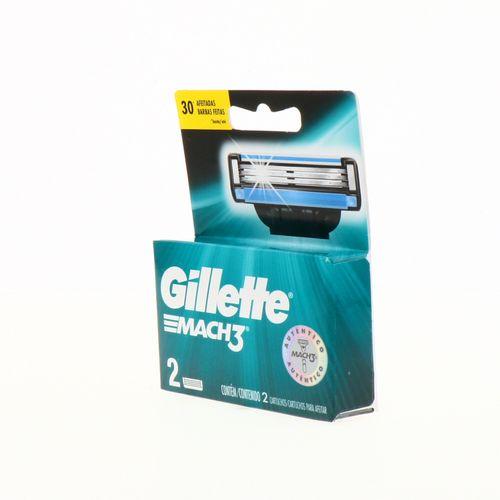 Repuesto Para Afeitar Gillette Mach3 Para Hombre 2 Un