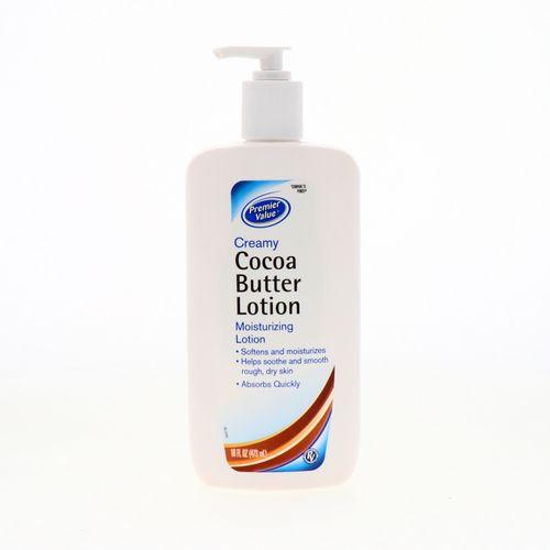 Crema Corporal Premier Value Manteca De Cacao 16 Oz
