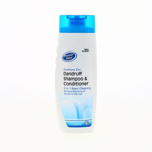 Shampoo Premier Value Anticas Con Acondicionador 14.2 Oz