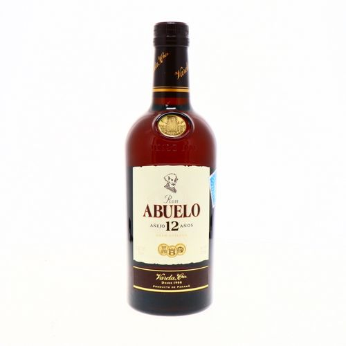 Ron Abuelo Añejo 12 Años 750 Ml