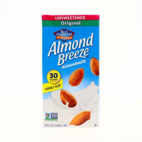 Bebida De Almendra Blue Diamond Sin Azúcar Original64 Oz