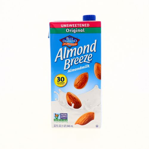 Bebida De Almendra Blue Diamond Sin Azúcar 32 Oz