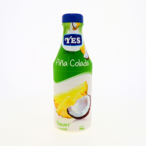 Yogurt Yes Sabor Piña Colada 750 Gr
