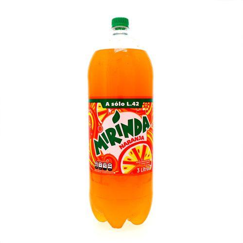 Refresco Mirinda Naranja En Botella 3 Lt
