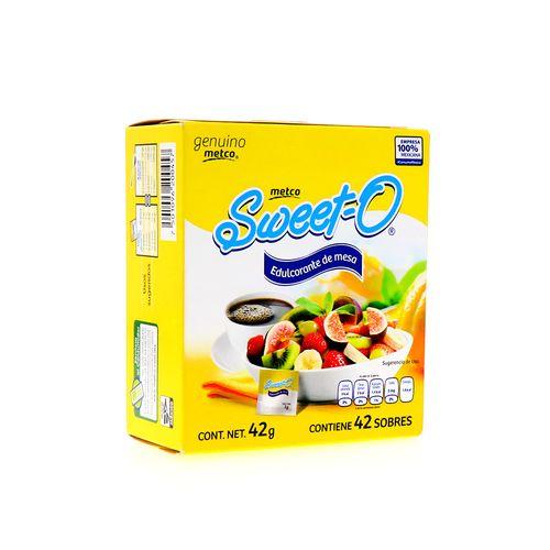 Edulcorante Sweet-O Metco De Mesa 42Gr