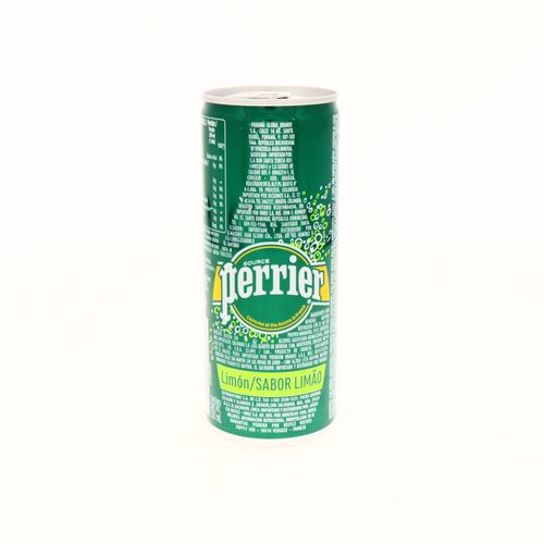 Agua Mineral Perrier Sabor Limón Lata 250 Ml