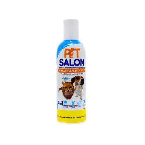 Shampoo Para Perros Y Gatos Pet Salon 4 En 1 240 Ml
