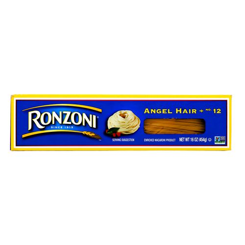 Pasta Ronzoni Angel Hair 16 Oz